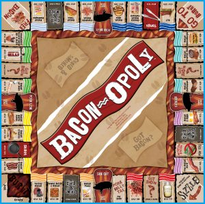 BACON-OPOLY Board Game