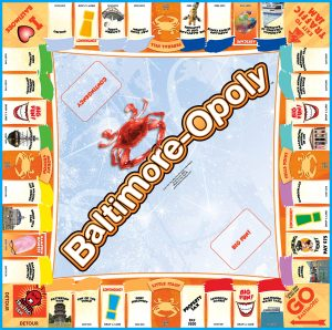 BALTIMORE-OPOLY Board Game