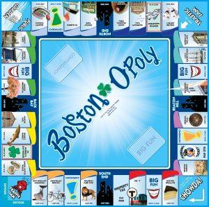 BOSTON-OPOLY Board Game