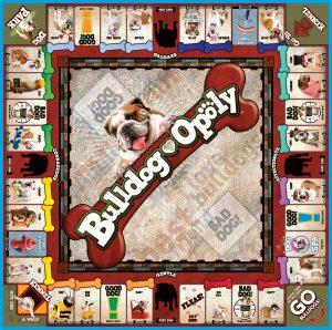 BULLDOG-OPOLY Board Game