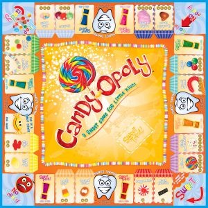 CANDY-OPOLY Board Game