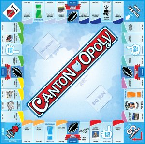 CANTON-OPOLY Board Game