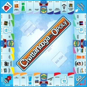 CHATTANOOGA-OPOLY Board Game