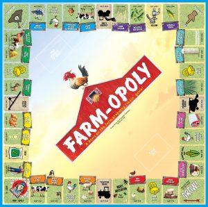FARM-OPOLY Board Game