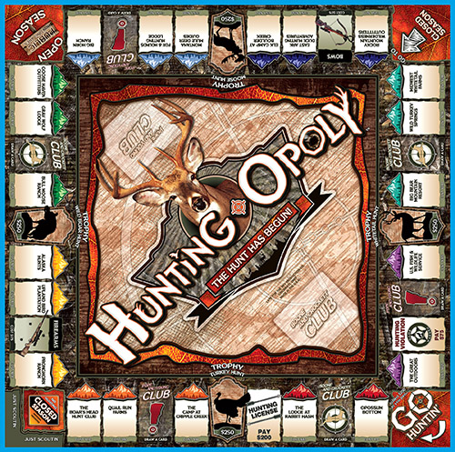 HUNTING-OPOLY Board Game