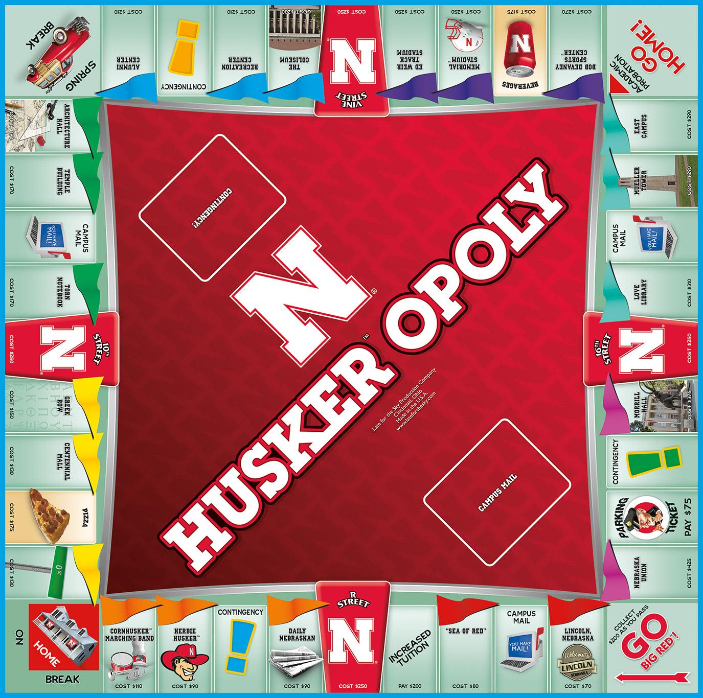 HUSKEROPOLY Board Game