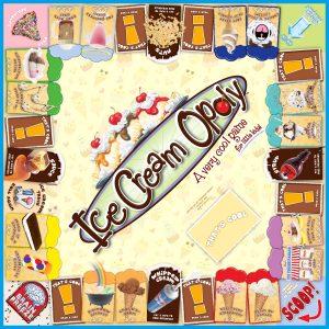 ICE CREAM-OPOLY Board Game