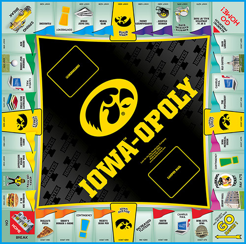 IOWAOPOLY Board Game