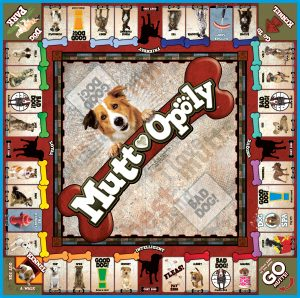 MUTT-OPOLY Board Game