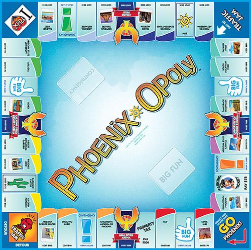 PHOENIX-OPOLY Board Game