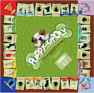 PUPPY-OPOLY Board Game