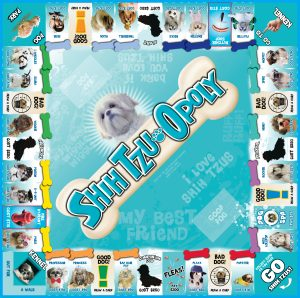 SHIH TZU-OPOLY Board Game
