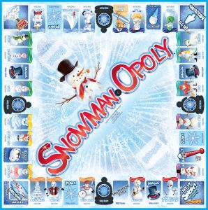 SNOWMAN-OPOLY Board Game