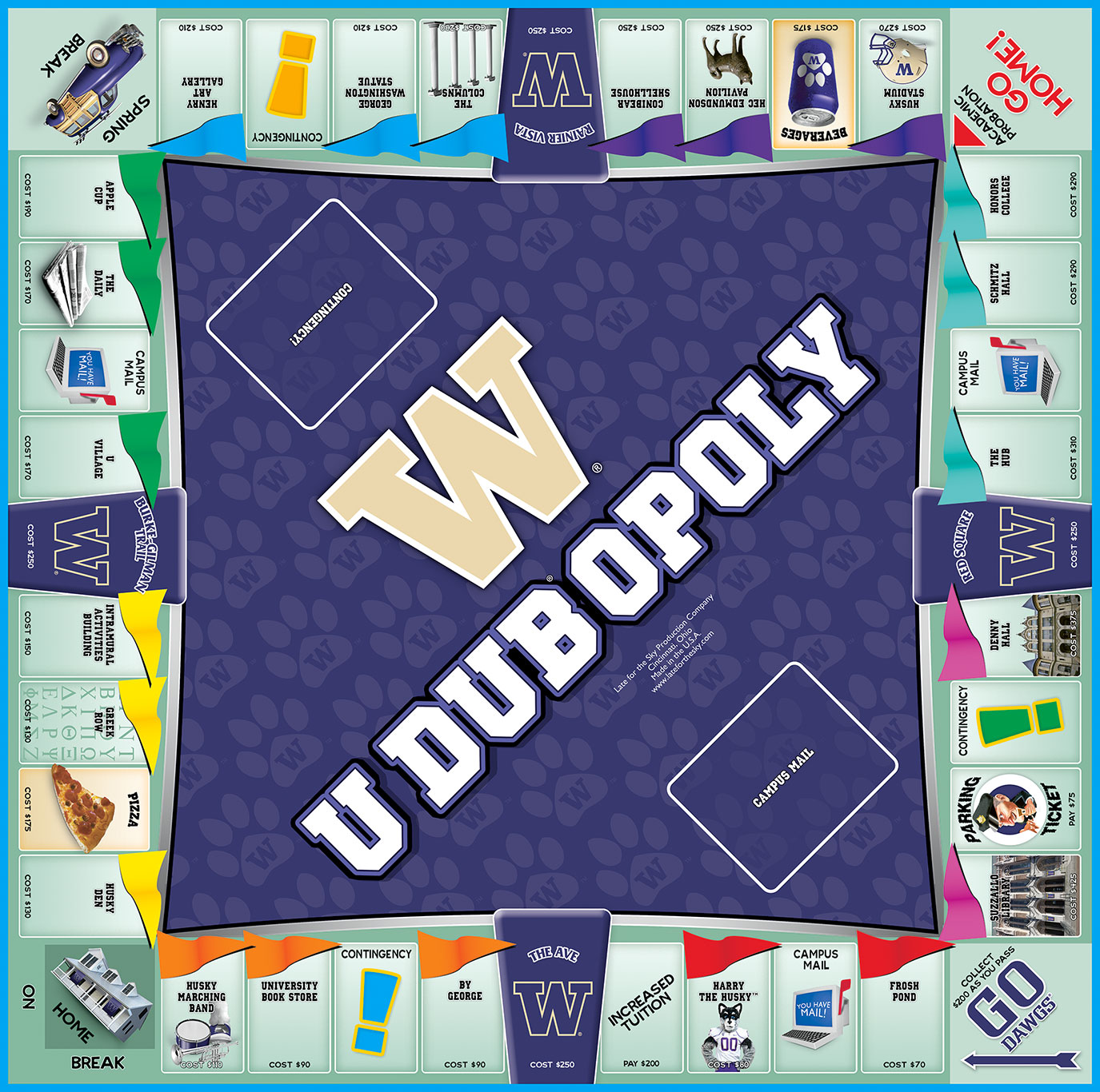 UDUBOPOLY Board Game
