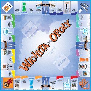WICHITA-OPOLY Board Game