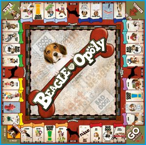 BEAGLE-OPOLY Board Game