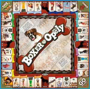 BOXER-OPOLY Board Game