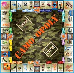 CAMO-OPOLY Board Game