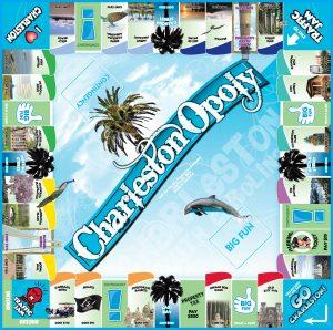 CHARLESTON-OPOLY Board Game