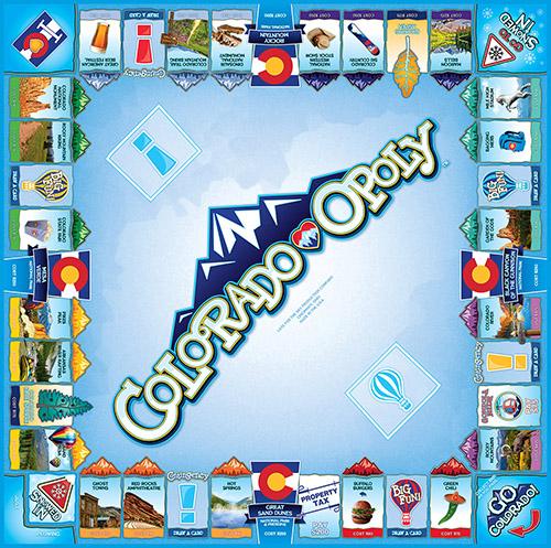 COLORADO-OPOLY Board Game