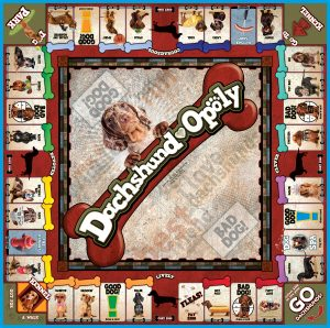 DACHSHUND-OPOLY Board Game