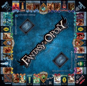 FANTASY-OPOLY Board Game