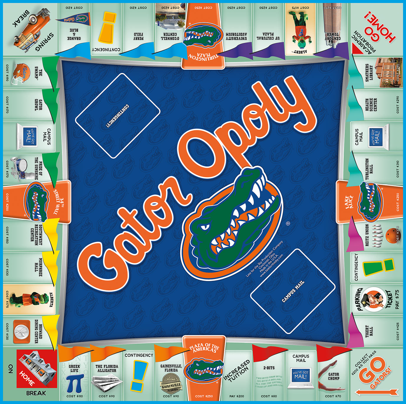 GATOROPOLY Board Game