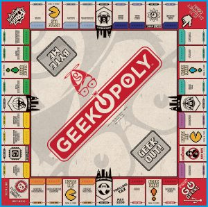 GEEK-OPOLY Board Game