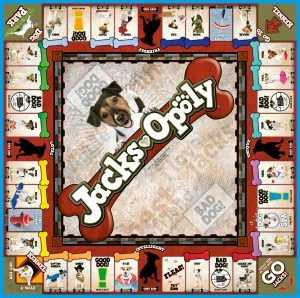 JACKS-OPOLY Board Game