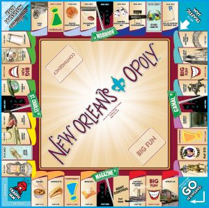 NEW ORLEANS-OPOLY Board Game
