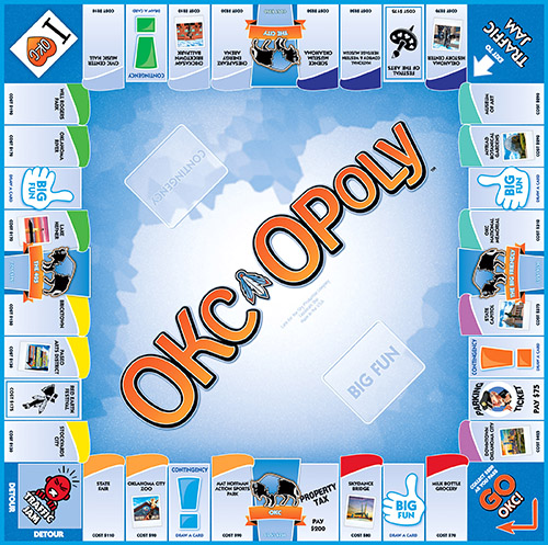 OKC-OPOLY Board Game