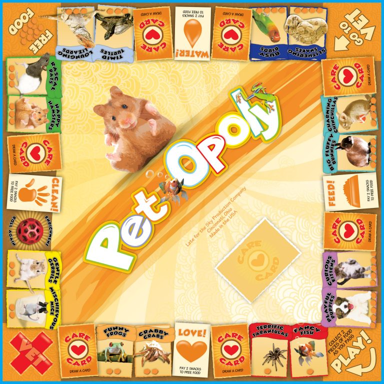 Pet Opoly Late For The Sky
