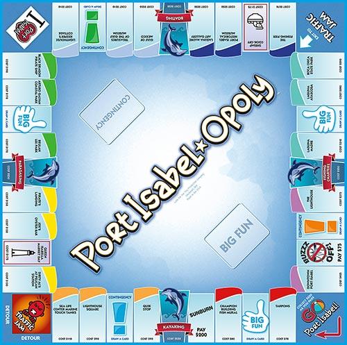 PORT ISABEL-OPOLY Board Game