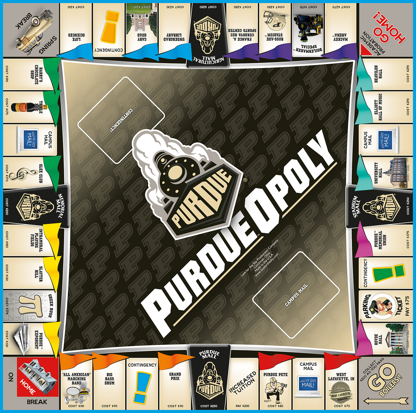 PURDUEOPOLY Board Game