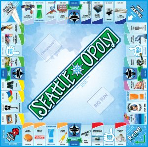 SEATTLE-OPOLY Board Game