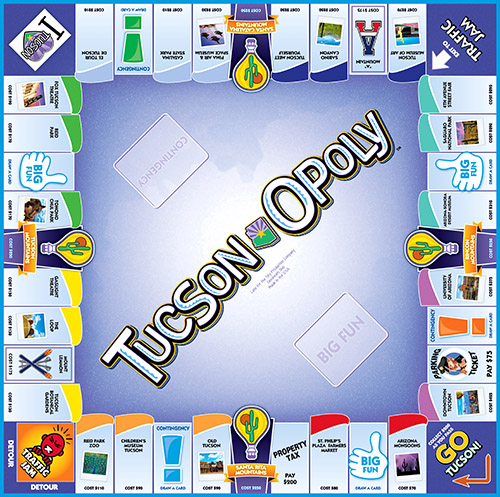 TUCSON-OPOLY Board Game