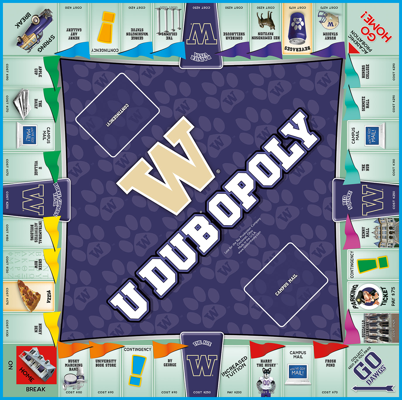 UDUBOPOLY Board Game
