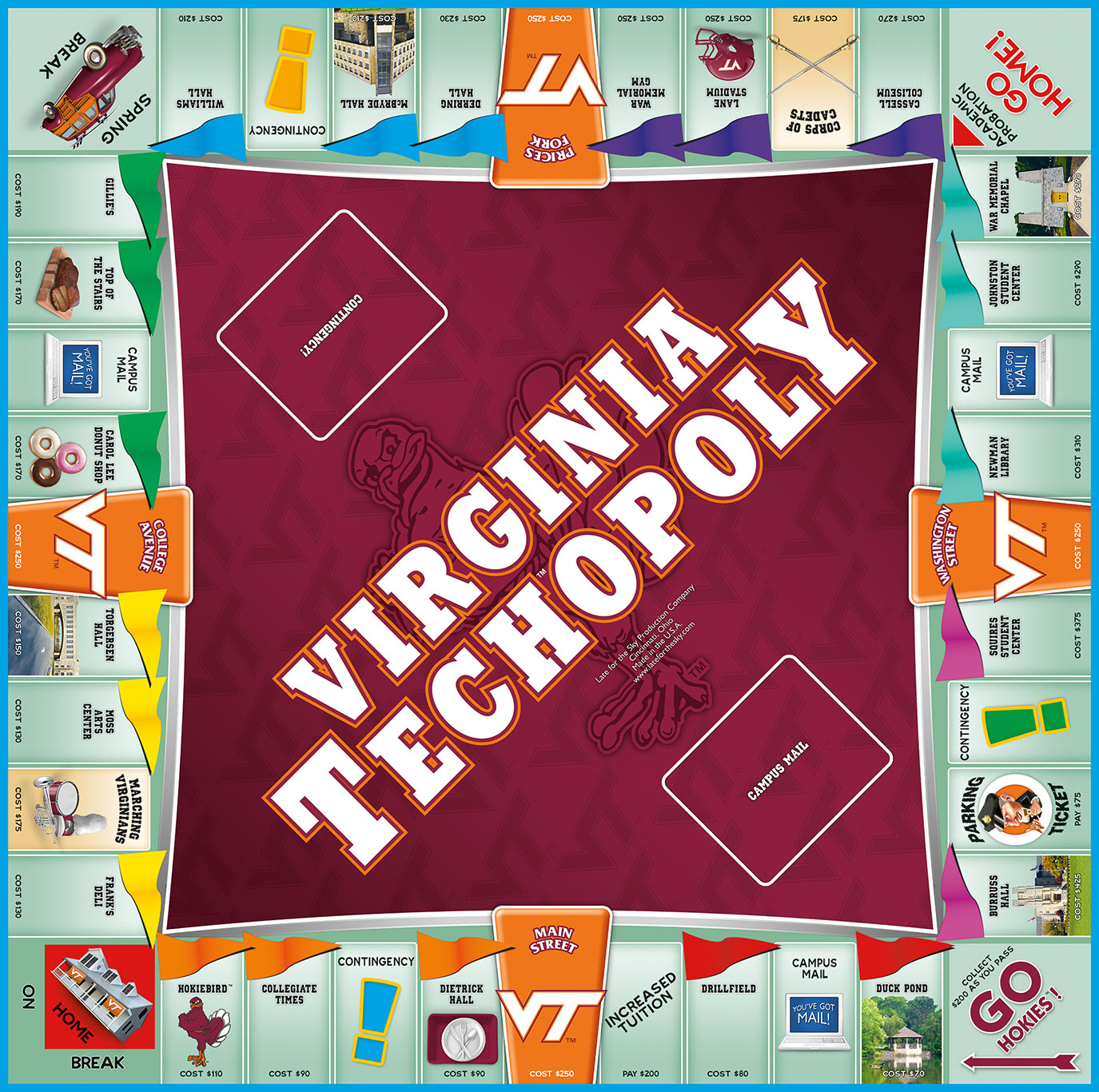 VA.TECHOPOLY Board Game